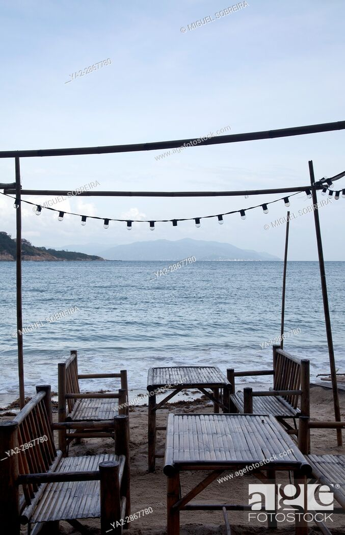 Stock Photo: Beach Restaurant in Koh Samui - Thailand.