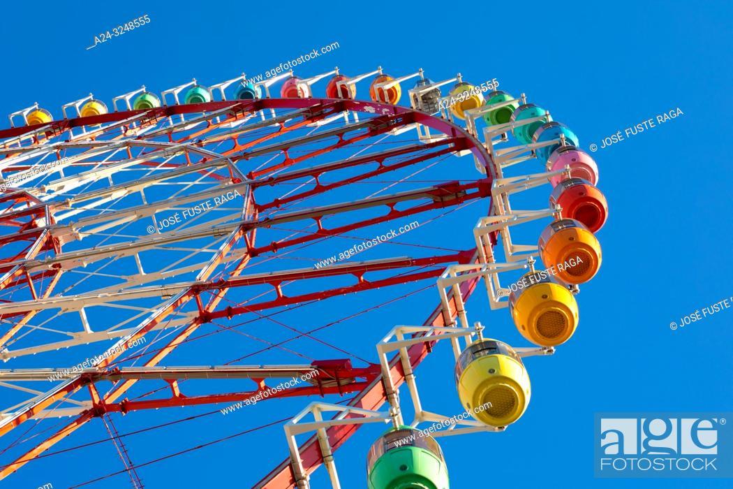 Imagen: Japan,Tokyo City, Odaiba area, ferris wheel,.