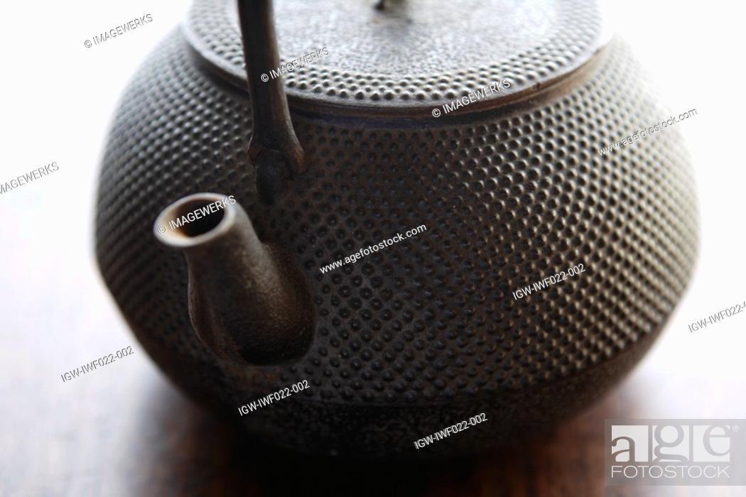 Stock Photo: Close-up of a teapot.