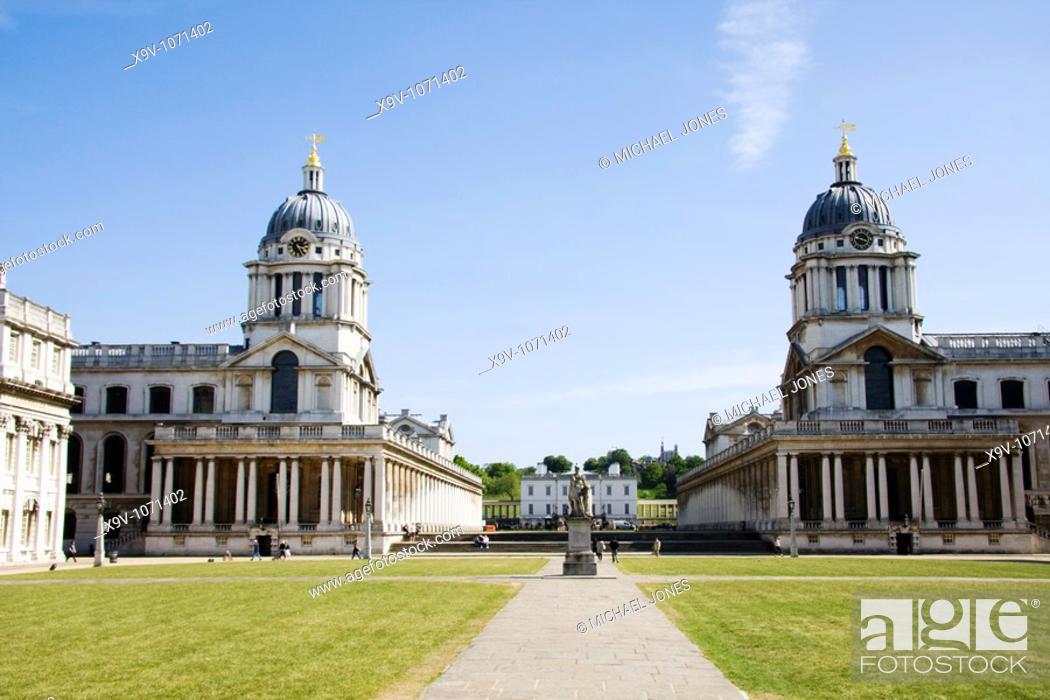 Imagen: Royal Naval College, Greenwich, London, England.