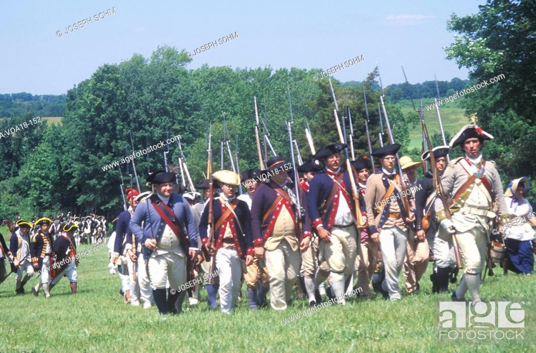 Revolutionary War Reenactment, Freehold, NJ, 218th