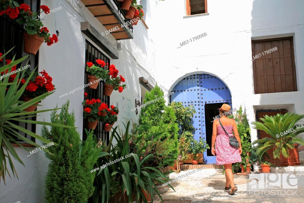 Imagen: Frigiliana village, Malaga, Costa del Sol, Andalucia, Spain.
