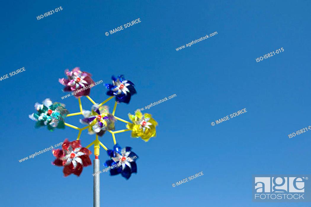 Stock Photo: Pinwheels.