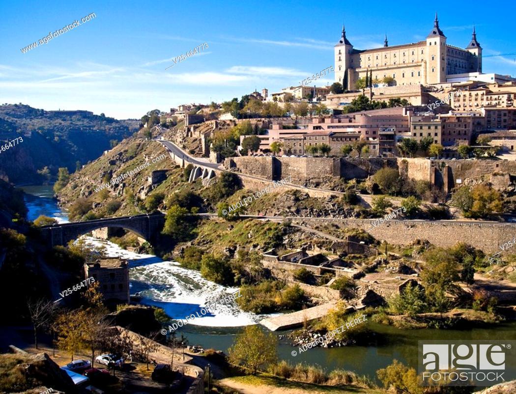Stock Photo: Toledo. Castilla la Mancha. Spain.