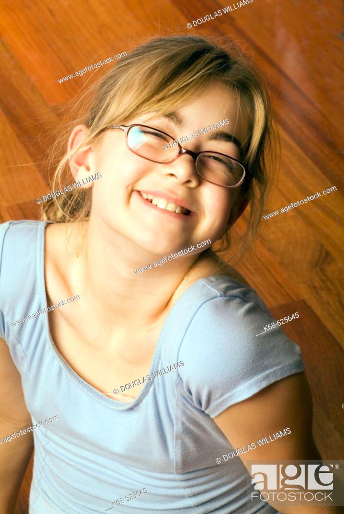 Stock Photo: girl, 11.