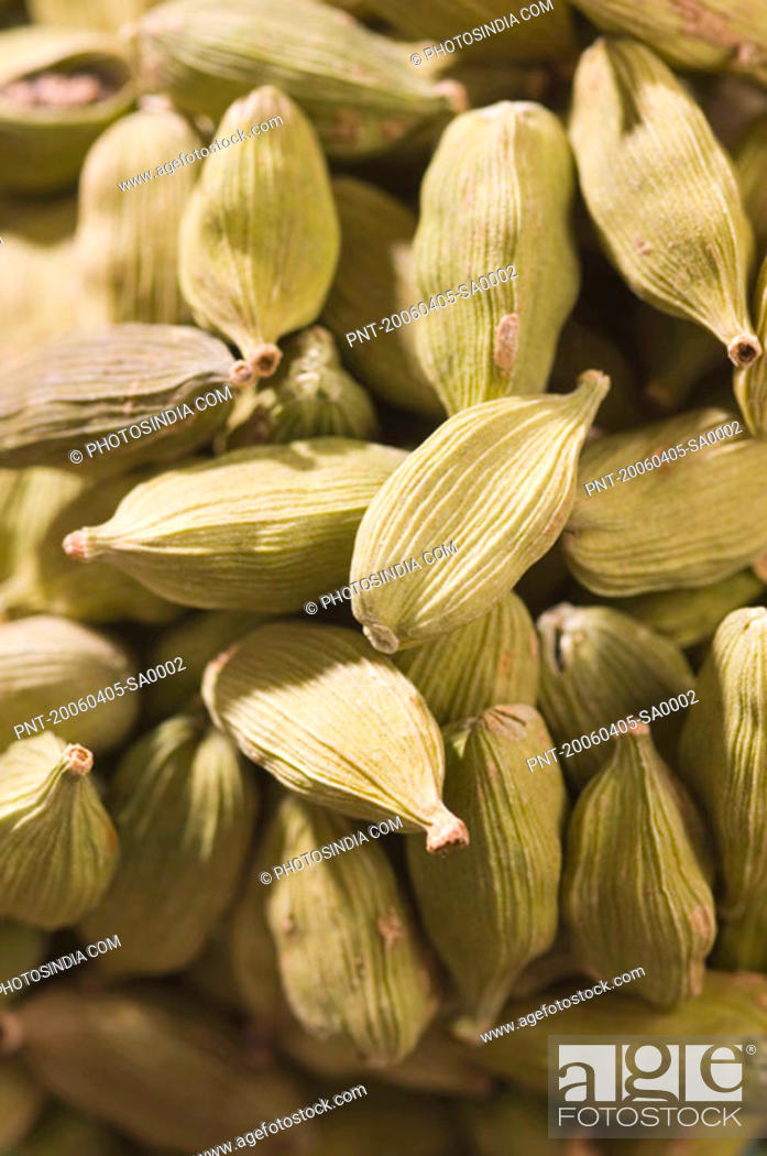 Stock Photo: Close-up of Cardamoms.