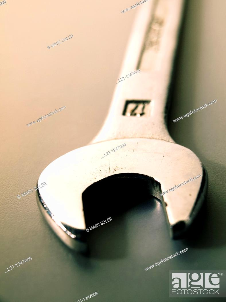 Stock Photo: Wrench.