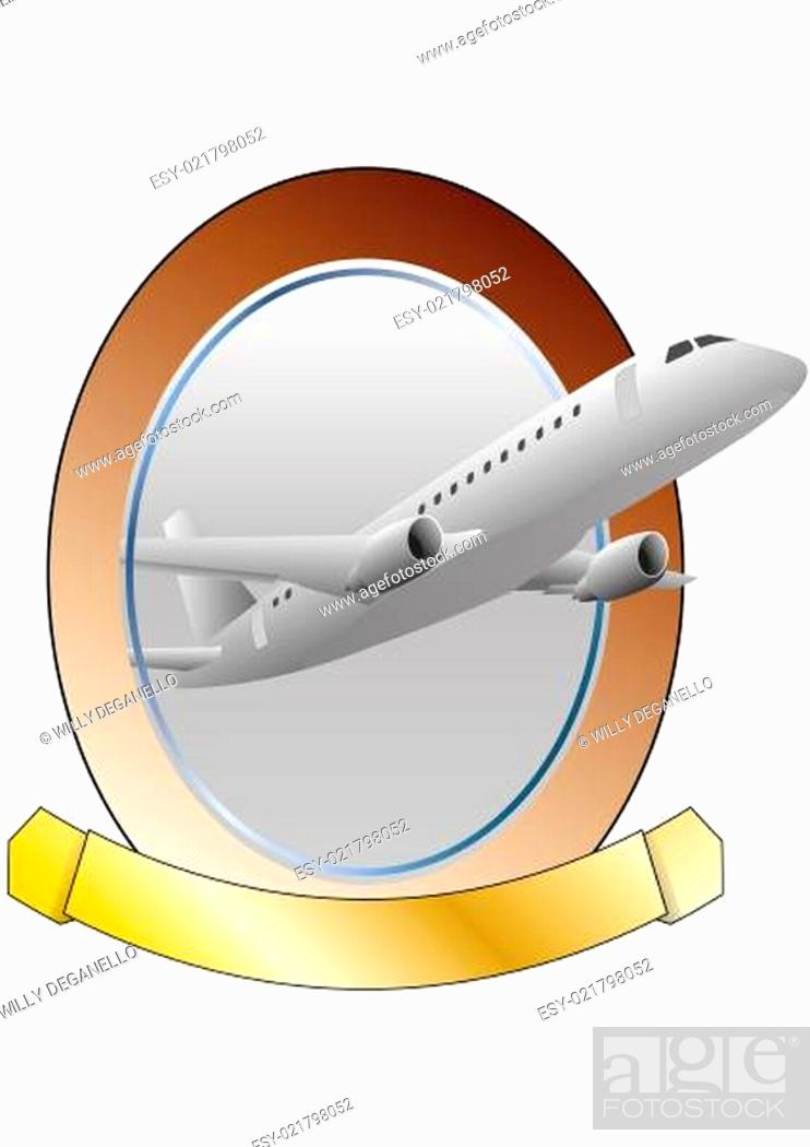 Imagen: airplane frame.