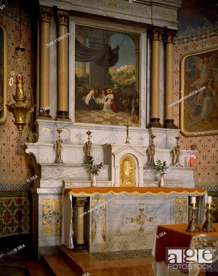 the altar in the latin church dedicated to the miracle of the