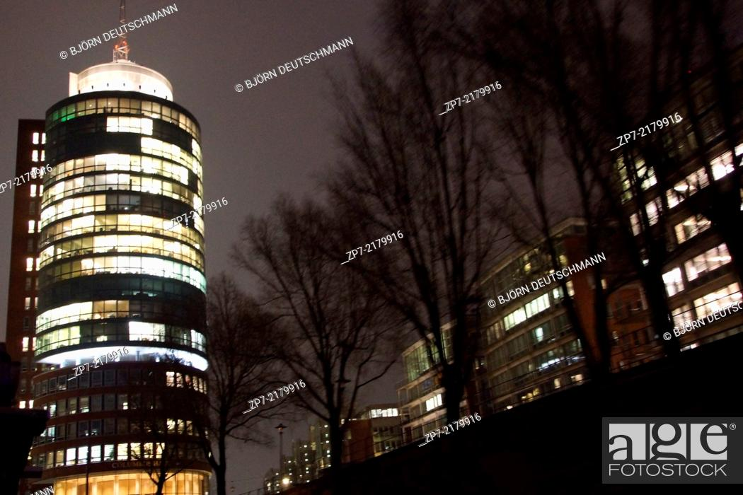 Stock Photo: The Speicherstadt Hamburg.