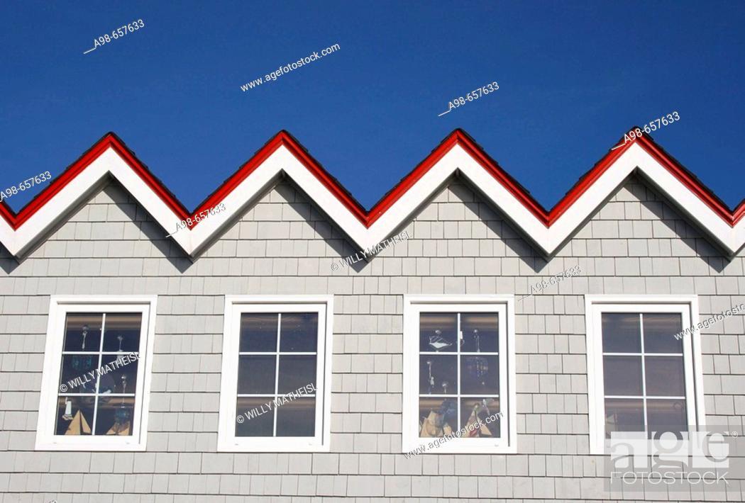 Imagen: Roof of the Restaurant at Peggys cove, Nova Scotia, Canada.