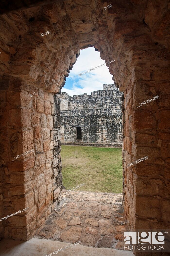 Stock Photo: Ek Balam ruins, Mexico.