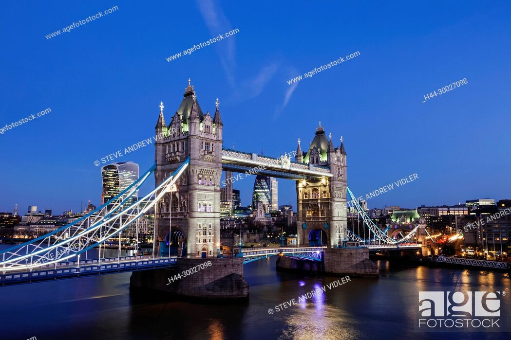 Imagen: England, London, Tower Bridge.