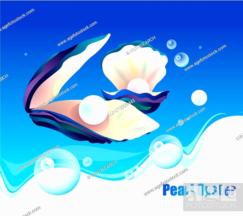 Stock Photo: fishes, sea, underwater, undersea, ocean, pearl.