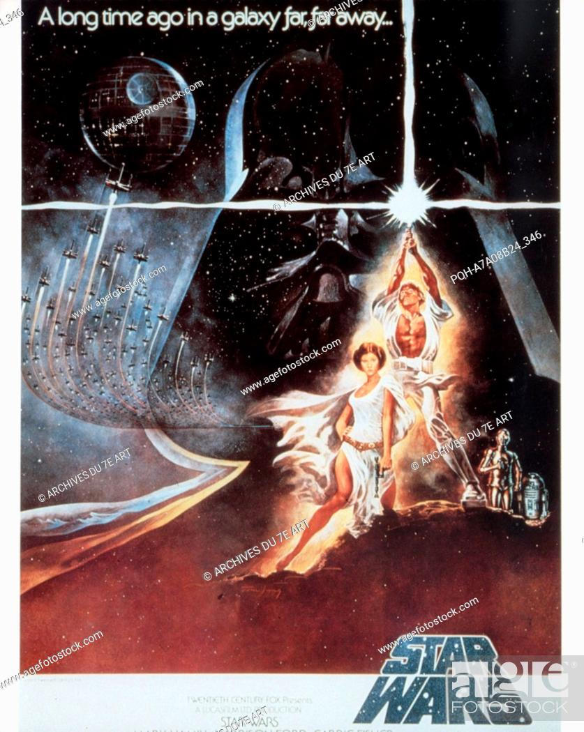 Star Wars Episode Iv A New Hope Year 1977 Usa Director George Lucas Poster Usa Stock Photo Picture And Rights Managed Image Pic Poh A7a08b24 346 Agefotostock