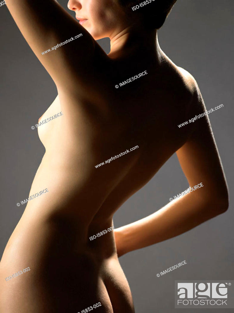 Stock Photo: Rear view of woman.