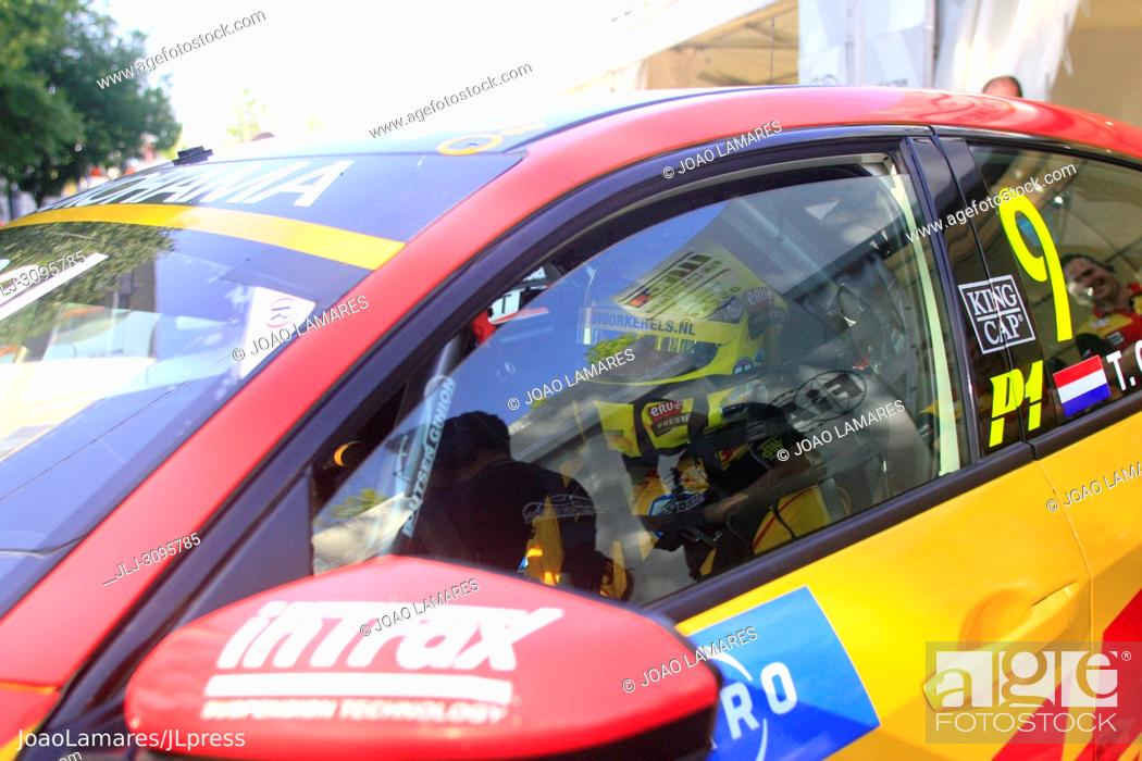 Stock Photo: T. Coronel, Honda Civic Type R TCR #9, WTCR Race of Portugal 2018, Vila Real.