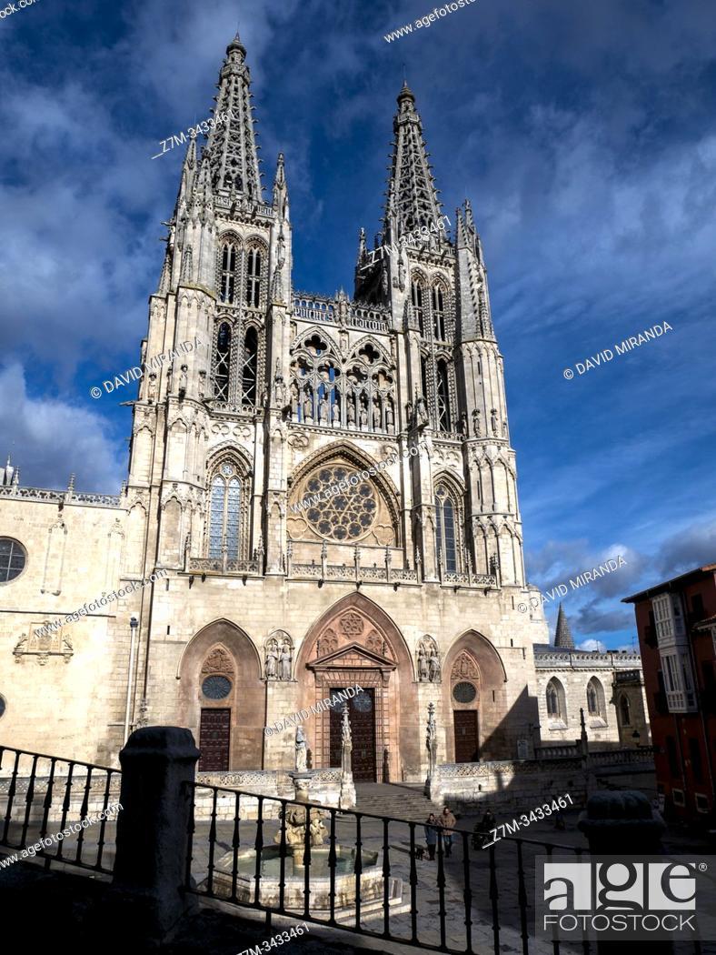 Imagen: Catedral de Santa María. Burgos. Castilla León. España.