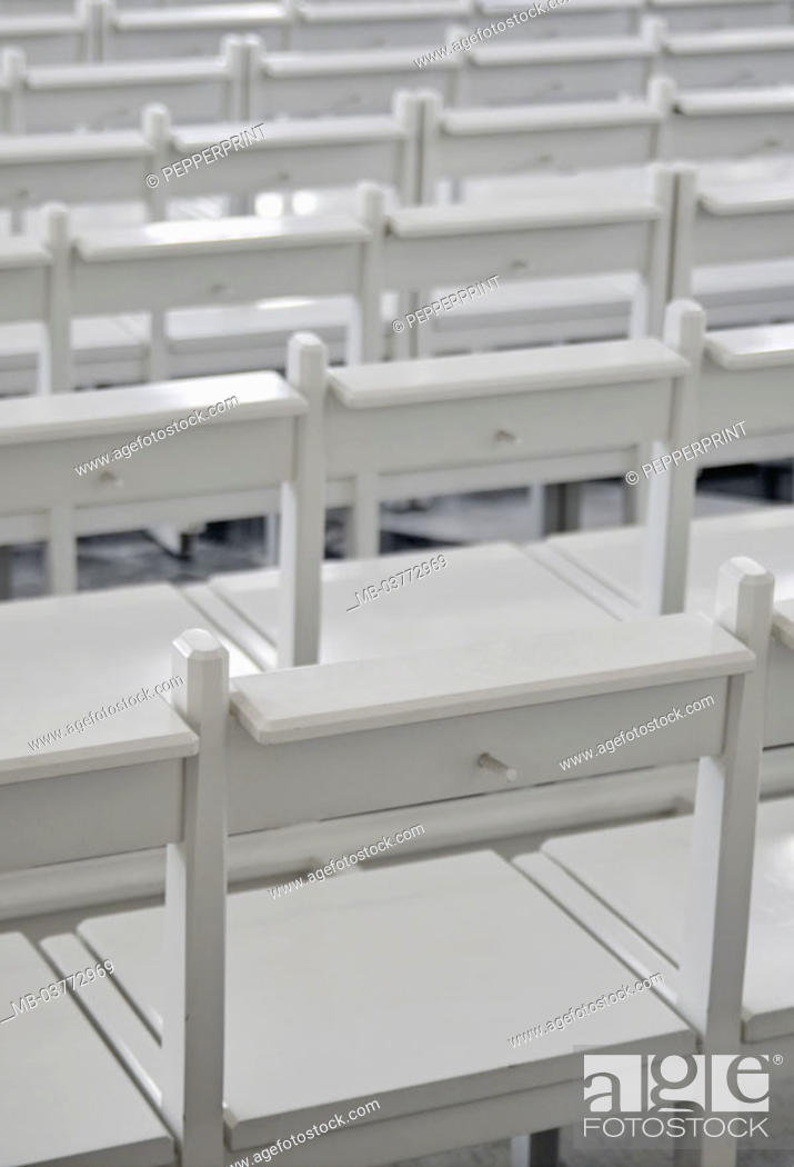 Amazing Benches White Empty Detail Auditorium Seat Benches Alphanode Cool Chair Designs And Ideas Alphanodeonline