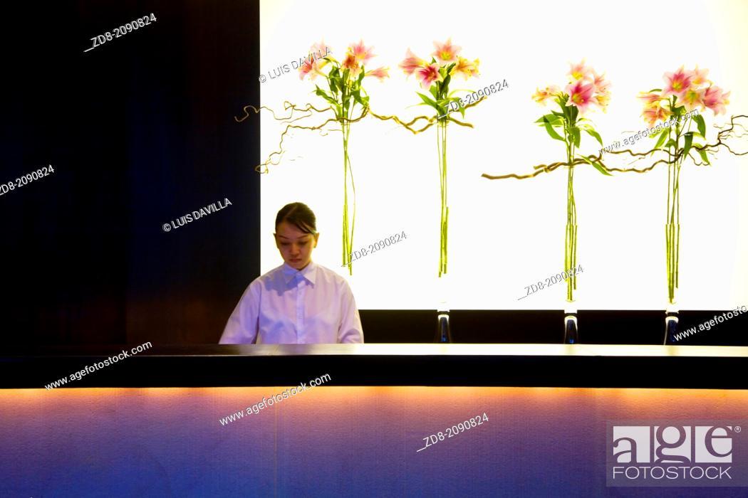 Stock Photo: luxury hotel in bangkok.