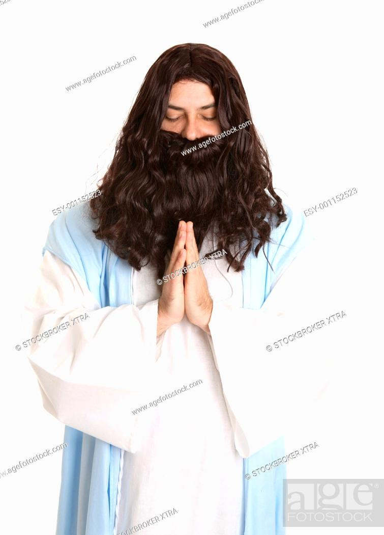 Stock Photo: Lord teach us to pray.