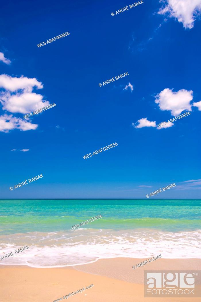 Stock Photo: USA, Florida, View of beach.