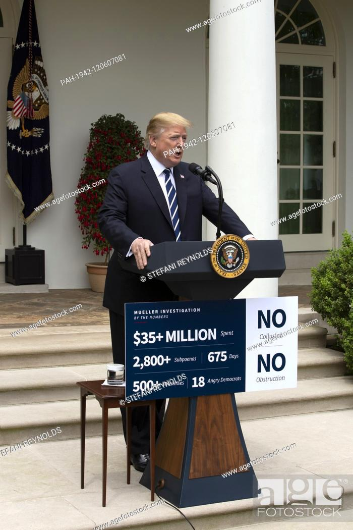 Imagen: United States President Donald J. Trump held a press conference in the Rose Garden of the White House in Washington D.C., U.S.