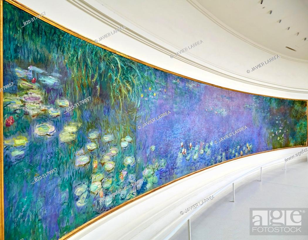 Water Lilies Nympheas Series Painted By Claude Monet Musee
