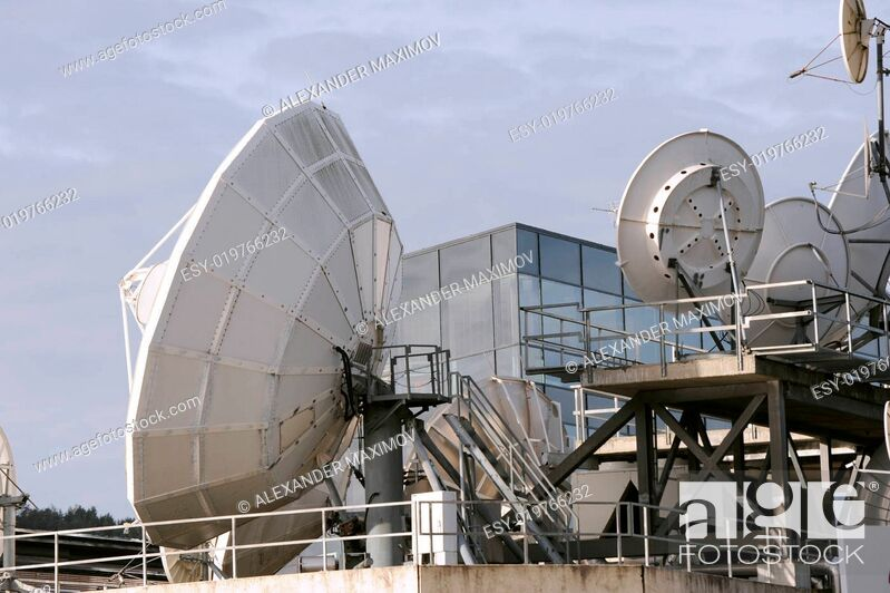 Stock Photo: Satelite.