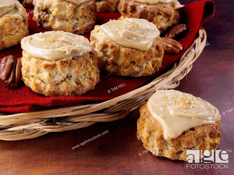 Imagen: Pecan scones.