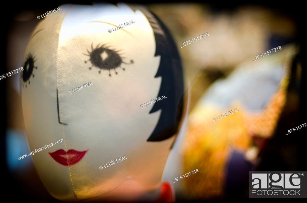 Stock Photo: Mannequin, shop window.