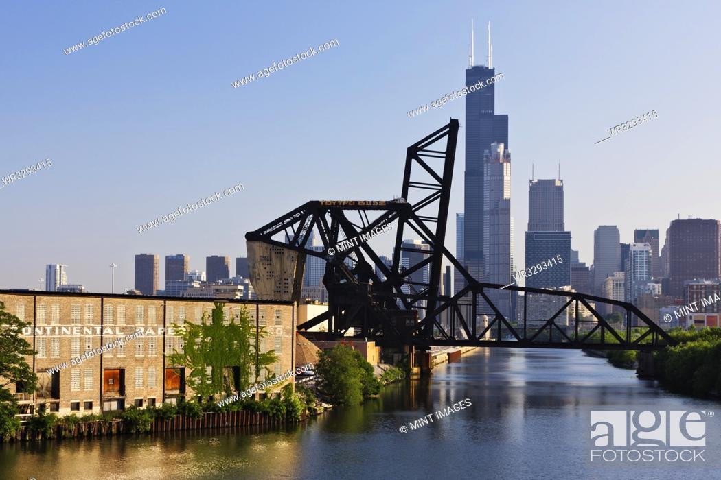 Imagen: 18th Street Lift Bridge in Chicago.