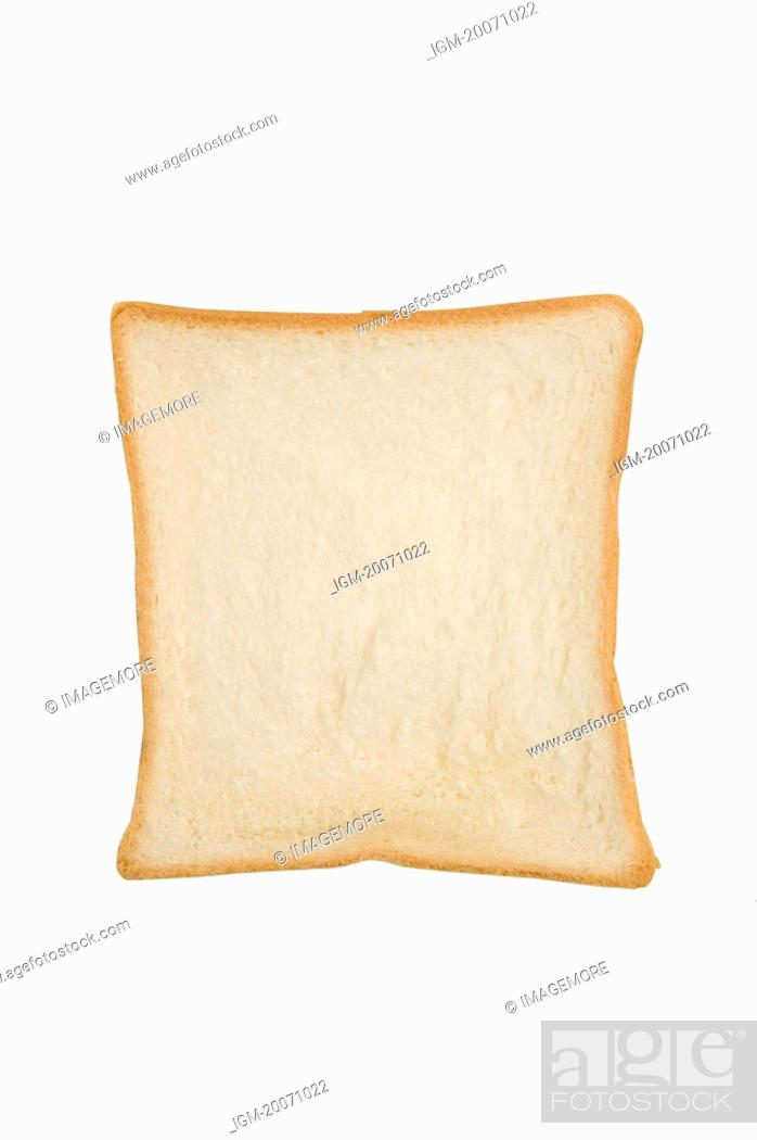 Stock Photo: A piece of toast.
