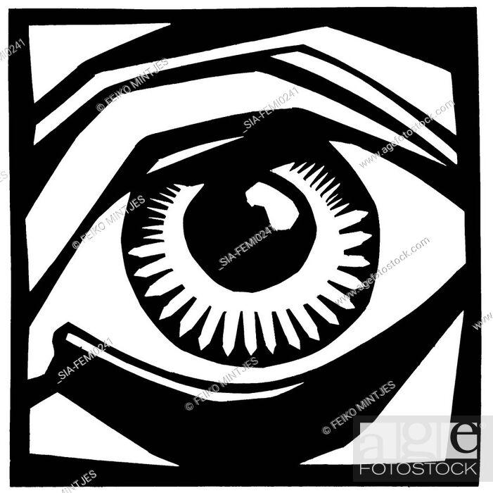 Imagen: Close-up of man's eye.