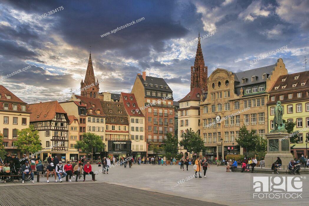 Imagen: Place Kleber, Strasbourg, Grand Est, France.