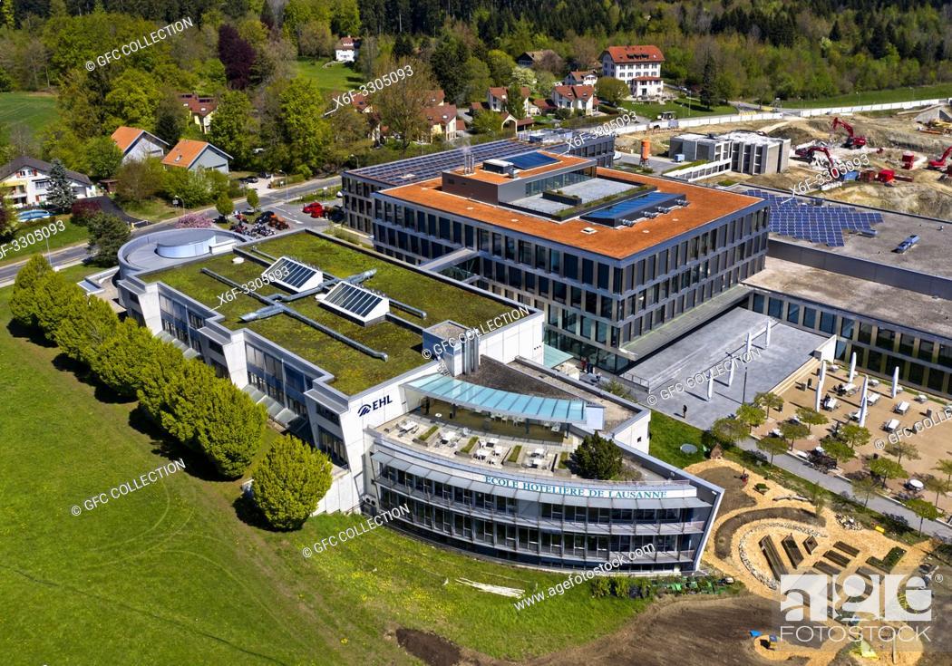 Photo de stock: Hospitality management school École hôtelière de Lausanne (EHL), Lausanne, Switzerland.