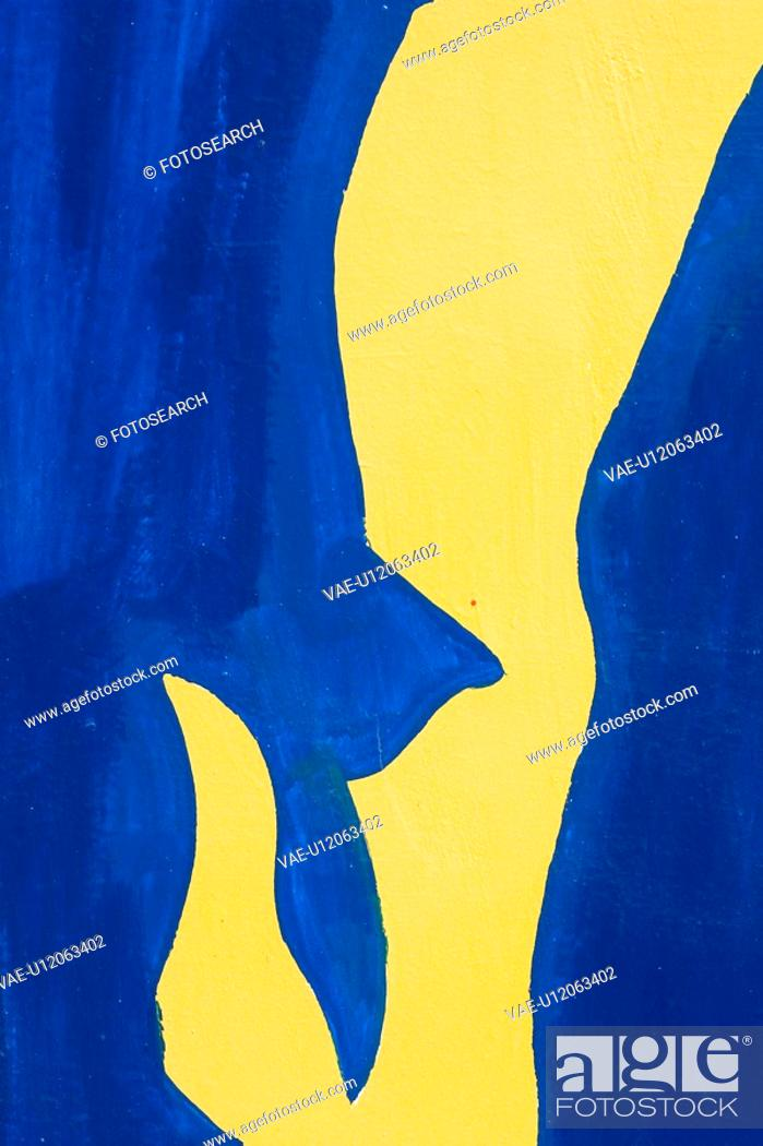 Stock Photo: Blue, Bright, Close-Up, Graphic, Illustration And Painting.
