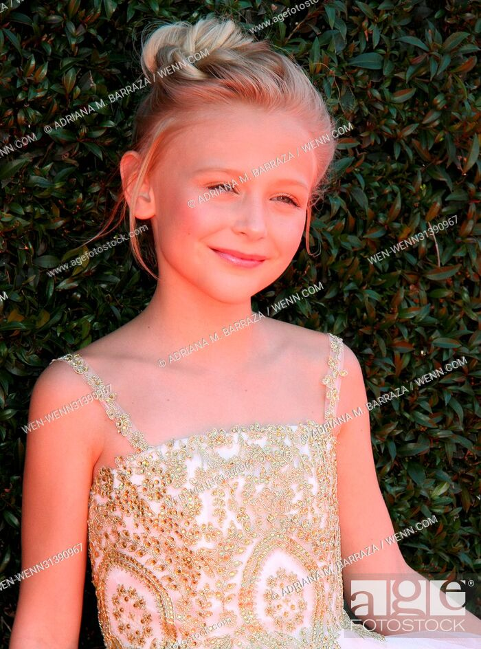 Stock Photo: 2017 Daytime EMMY Awards Arrivals held at the Pasadena Civic Center. Featuring: Alyvia Alyn Lind Where: Los Angeles, California.