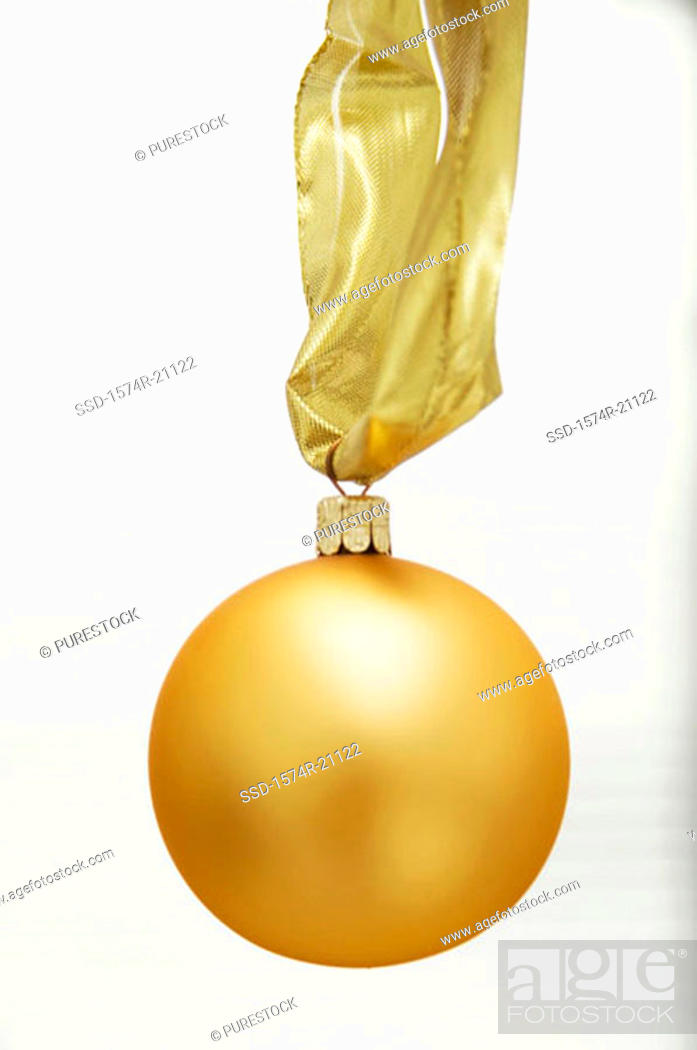 Stock Photo: Close-up of a Christmas ornament.