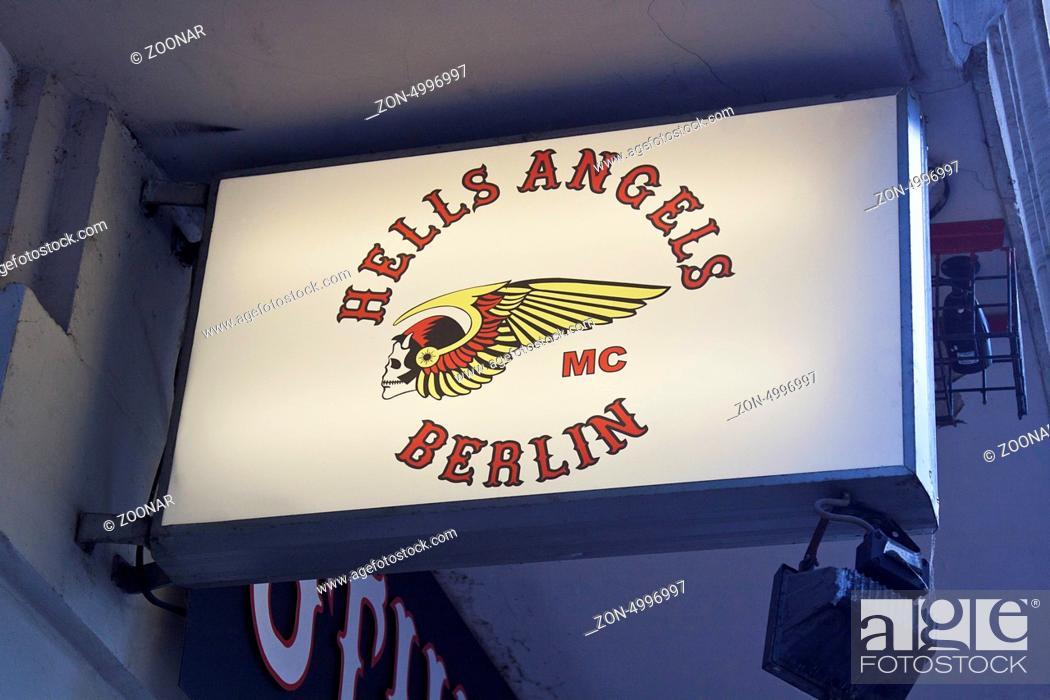 Stock Photo: Hells Angels.