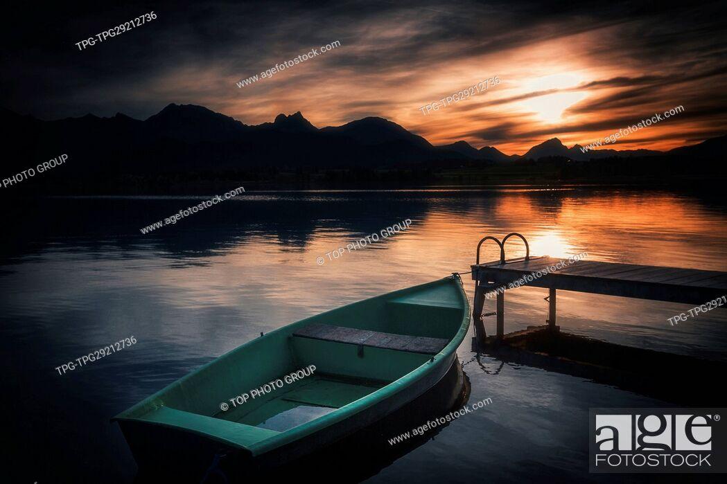 Imagen: Hopfen Lake;Germany.