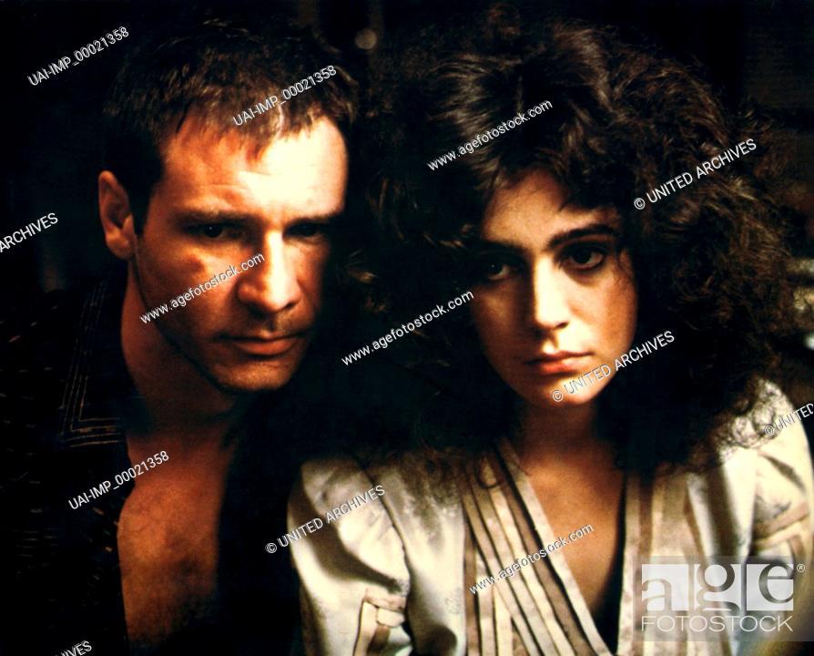 Stock Photo: Blade Runner, (BLADE RUNNER) USA 1982, Regie: Ridley Scott, HARRISON FORD, SEAN YOUNG.