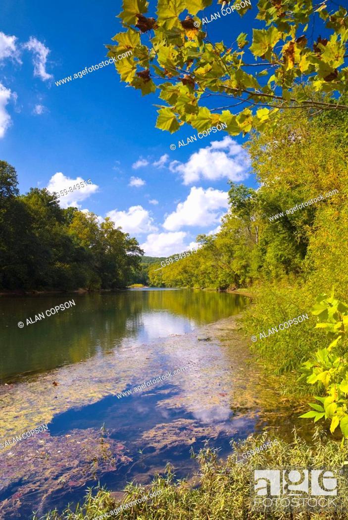 Imagen: Meramec River, Missouri, USA.
