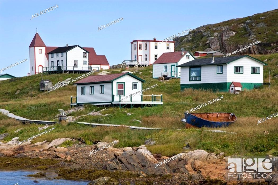 Stock Photo: Battle Harbour, Labrador, Canada.