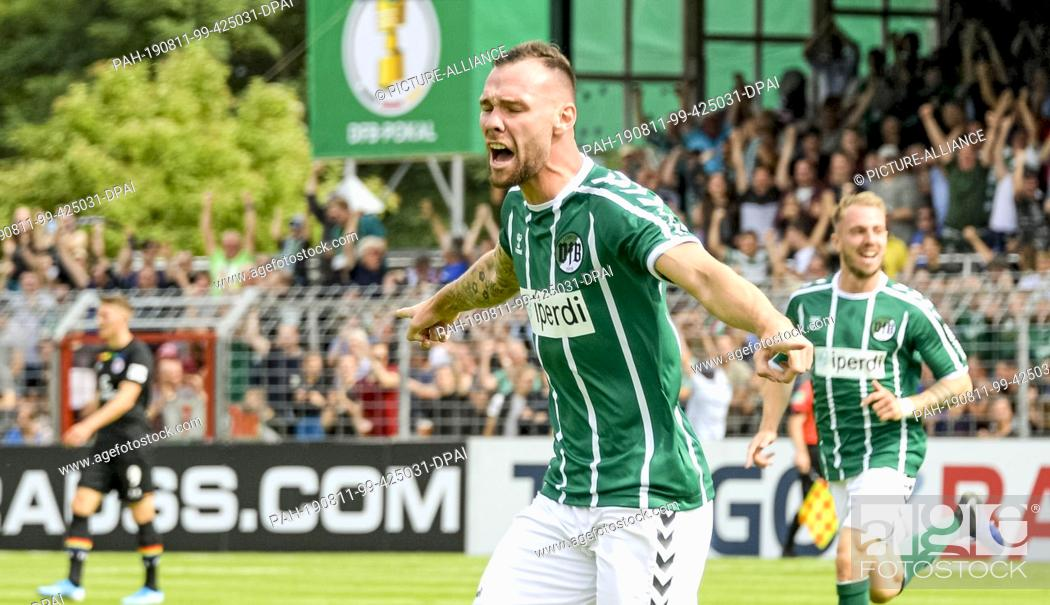 11 August 2019 Schleswig Holstein Lubeck Soccer Dfb Cup Vfb Lubeck Fc St Stock Photo Picture And Rights Managed Image Pic Pah 190811 99 425031 Dpai Agefotostock