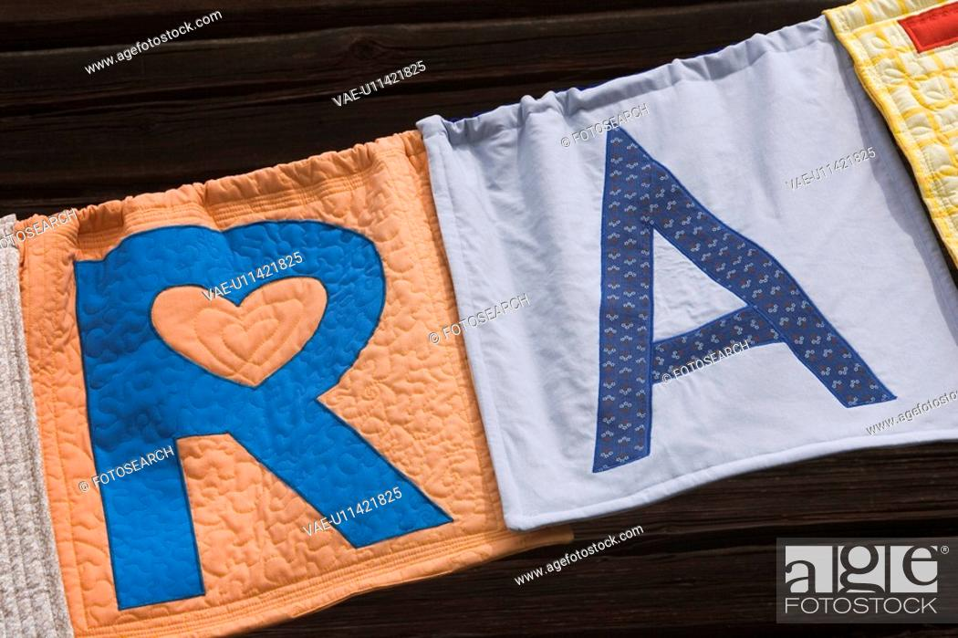 Stock Photo: Bath Towel, Bold, Close-Up, Clothing, Day.