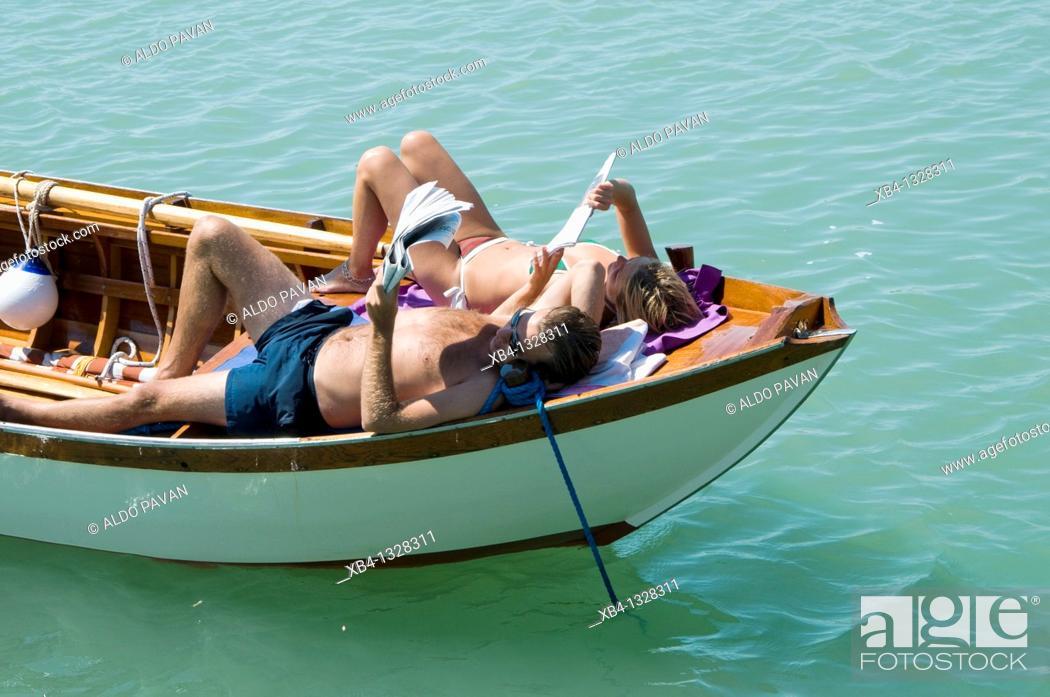 Stock Photo: Italy, Venice, Burano.