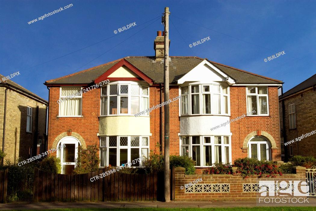 Semi Detached Houses England Uk