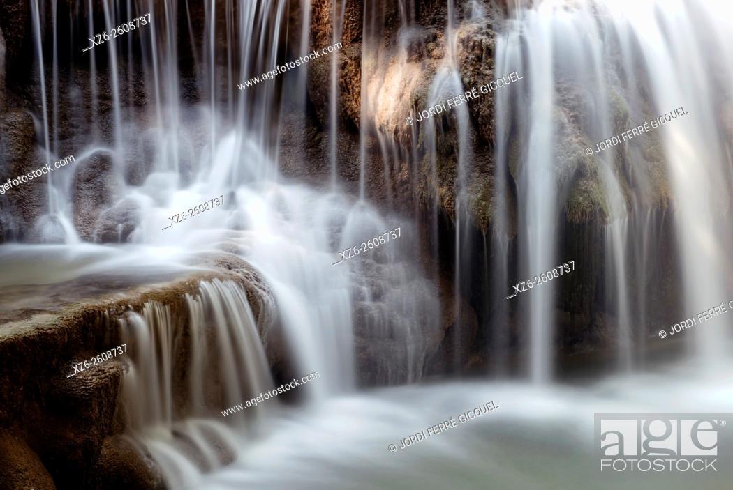 Imagen: Huay Mae Khamin Waterfall, Srisawat district, Kanchanaburi, Thailand, Asia.