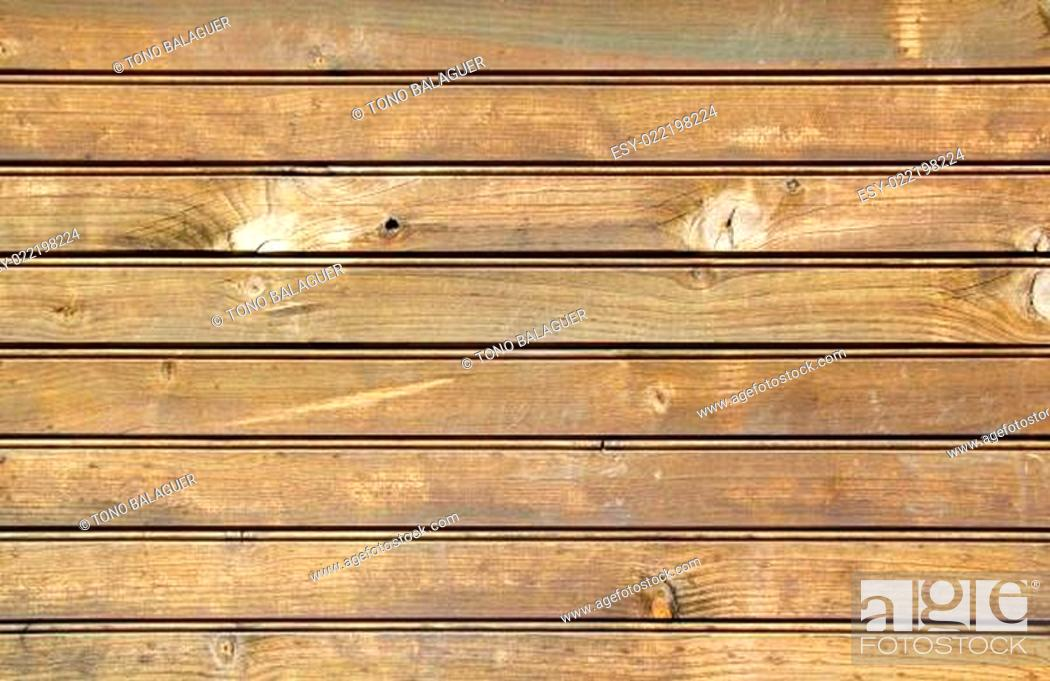Stock Photo: brown wood stripes board pattern texture.